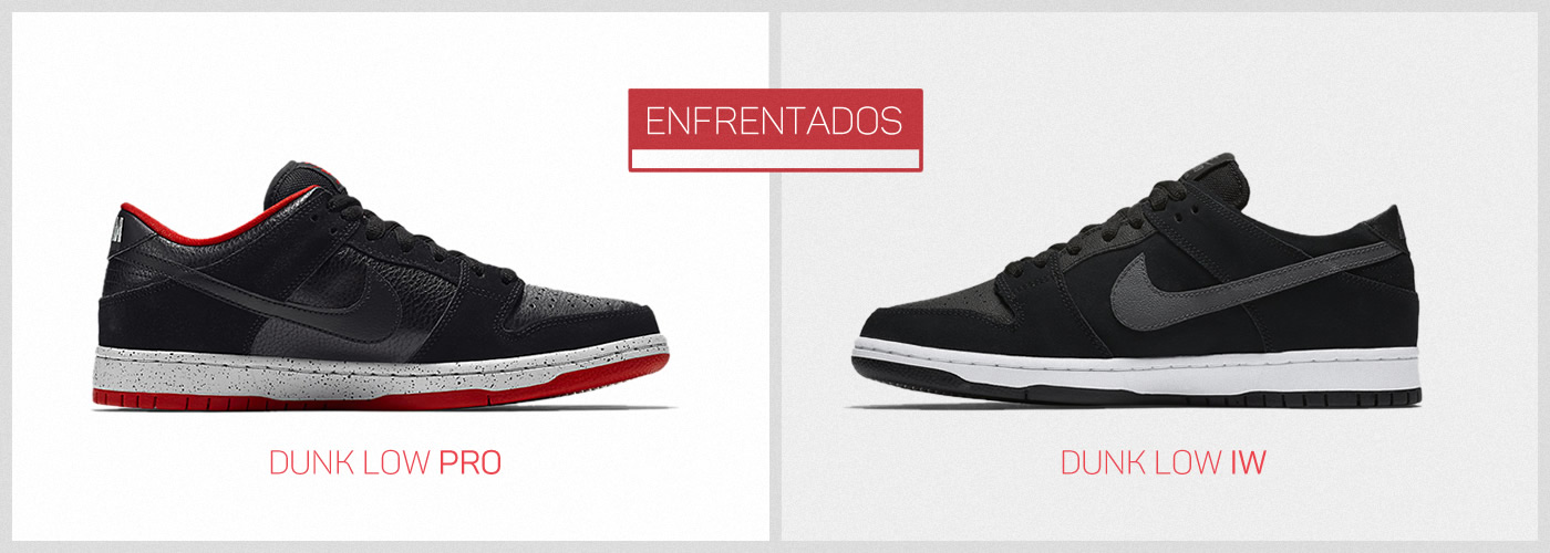 best sneakers 9e905 8a3a0 Enfrentados  Nike SB Dunk Low
