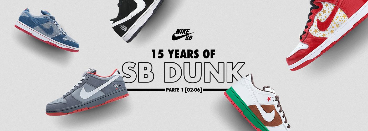 15 years of SB Dunks - Header