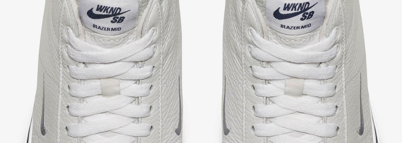 on sale 0307d e4d61 Construidas en cuero premium en color blanco en la totalidad de la silueta,  con las costuras del mismo color, logrando un purismo en todas la zapatilla.