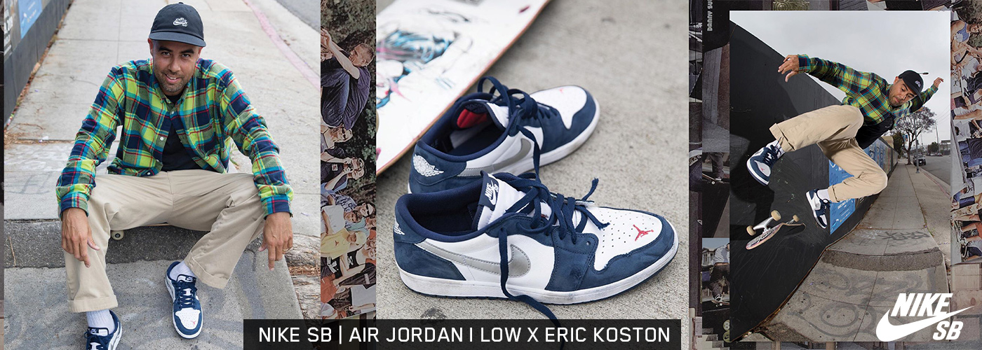 Nike SB Air Jordan Low x Koston